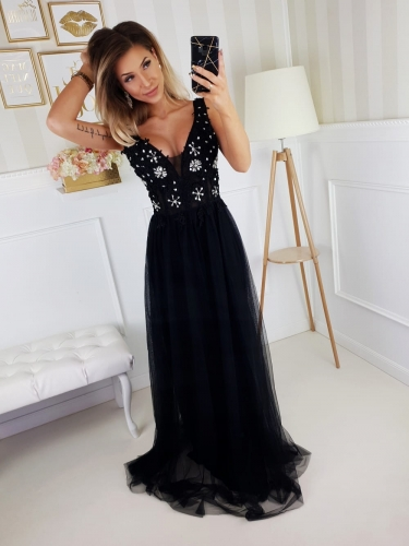 Sukienka Black Diamond Maxi